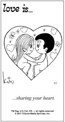 Pensamentos, Citações e Coisas do Género... Thoughts, Quotes and Those Sort of Things...: Amor é... partilhar o teu coração.
