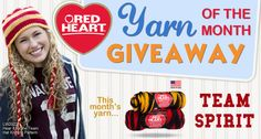 Yarn of the Month Giveaway for August