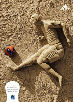 Adidas:  Beach soccer, 1