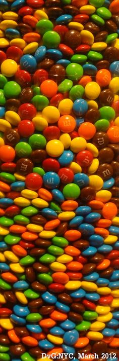 M&M's are my favorite !! Love the colorful burst of energy...here ;-)