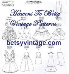 free american girl doll clothes pattern drawstring dress liberty by aprilgib