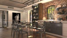 Így lesz álomotthon egy malomépületből Malm, Furniture, Home Decor, Decoration Home, Room Decor, Home Furnishings, Home Interior Design, Home Decoration, Interior Design