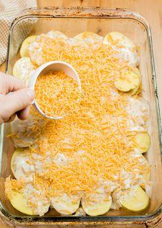 Candied Bacon Au Gratin Potatoes - Plating Pixels