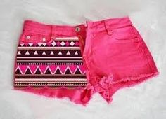 shorts clothes tribal tribal shorts pink denim tribal short brown girl's clothes girls summer cute zick zack cool pink shorts girly aztec aztec print cut off shorts tribal pattern aztexprint shorts aztec pink Beauty And Fashion, Teen Fashion, Passion For Fashion, Love Fashion, Pink Fashion, Fashion Spring, Style Fashion, Fashion Trends, Tribal Shorts