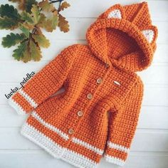 Crochet clothing pattern | crochet pattern hoodies for kids