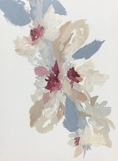 Image result for abstract floral painting