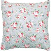 GreenGate Quilted Cushion - Simone Linen 50 x 50 cm