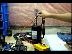 DIY Vacuum Pump - Repurposing refrigeration compressors - YouTube