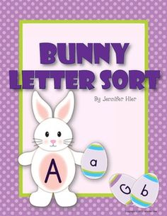 Easter Bunny Alphabet Sort