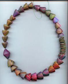 Cones Necklace by MargitB., via Flickr