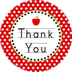 Free Teacher Appreciation Printable from DimplePrints Teacher Stickers, Teacher Cards, Teacher Thank You, Teacher Gifts, Teacher Stuff, Back To School Party, School Parties, School Gifts, Thank You Printable