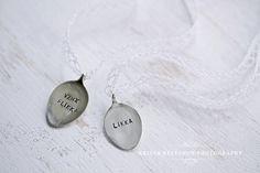 Beloved spoon pendants photographed by Krista Keltanen