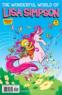 Buy This Book: 'The Wonderful World Of Lisa Simpson' #1