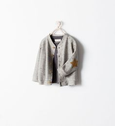 Image 1 of STAR JACKET WITH ELBOW PATCHES from Zara