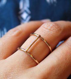 Axis Ring | Jewelry Rings | Elisha Marie Jewelry | Scoutmob Shoppe | Product Detail $40