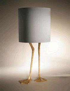 Porta Romana Duck Feet Lamp - I am desperate for this lamp!!!