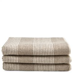 Tasha+Bath+Towel+Linen+with+Cream+Stripes