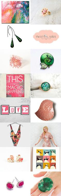 Magic Happens by BeLuli Designer on Etsy--Pinned with TreasuryPin.com