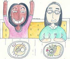 madness with attitude: BREAKFAST !today,i got my breakfast with my classm...