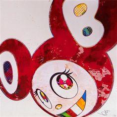 And Then X6 Vermillion von Takashi Murakami auf artnet
