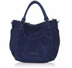 Liebeskind Tasche GretaC aus Wildleder in dunkelblau Blau