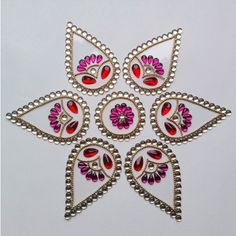 Shop Kundan Rangoli_wedding Special by Dipti Art & Craft online. Largest collection of Latest Decoratives online. ✻ 100% Genuine Products ✻ Easy Returns ✻ Timely Delivery
