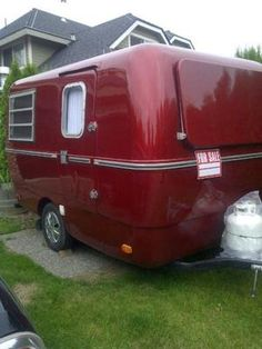 1000 Images About Fiberglass Travel Trailers On Pinterest Trailers Custom Paint And Scamp Camper