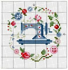 Green Fingers Gardening Greenhouse Sampler Cross Stitch Chart K