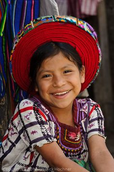 Girl from Guatemala - a contagious smile of contentment and plain happiness.