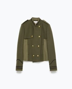 Image 8 of COMBINED ARMY JACKET from Zara