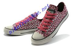 Leopard Converse All Star Shoes