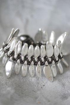 Sterling silver bracelet./ Different like