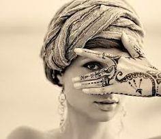 henna tatoo simple
