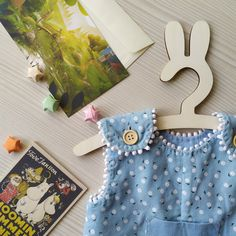 Children's Jumpsuit from Cotton Сorduroy, Baby Outfit with Linen Pocket and Daisy Print | Etsy | MaryLinen
