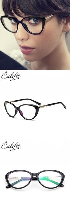 933439cc724 Retro cat eye glasses women frame luxury design eyeglasses ladies clear  lens glasses classic accessories gafas