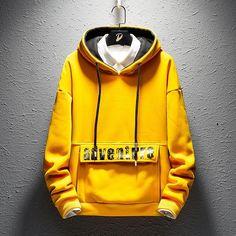 Hip Hop Hoodies Mens Hoody Clothes Warm Autumn Spring Hoodie Fashion Streetwear Casual Hoodies for Men Black Yellow – Waliicorner's Store Stylish Hoodies, Unique Hoodies, Venom Hoodie, Outfits Spring, Sweat Shirt, Hoodie Brands, Hip Hop, Streetwear Fashion, Street Wear