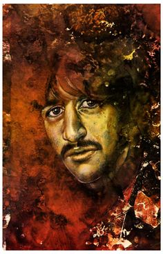 A great psychedelic poster of The Beatles Ringo Starr! Portraits of the other 3 Beatles are also available so you can own all 4! Ships fast. 11x17 inches. Also available in a set containing all 4 psyc