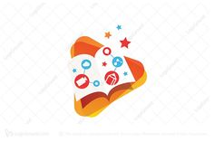 Learn Media Logo PREMIUM LOGOS FOR SALE #logo #design #graphicdesign #branding #art #logodesign #logodesigner #logos #designer #graphicdesigner #brand #logodesigns #graphic #creative #marketing #photoshop #illustration #graphics #illustrator #logotype #brandidentity #vector #logodesinger #logoinspiration #logoinspirations #artwork #logomaker #typography #forsale #buy #designlogo #digitalart #webdesign #artist #identity #logotipo #icon #love #brandingdesign #banner #logobrand #connection Logo Branding, Branding Design, Education Logo Design, Crown Logo, Premium Logo, Star Logo, Media Logo, Kids Logo, Logo Maker