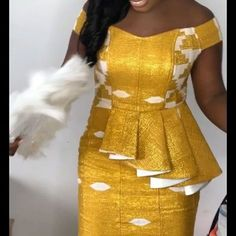Latest African Fashion Dresses, African Dresses For Women, African Print Fashion, Africa Fashion, African Attire, African Traditional Dresses, Mode Style, Fashion Outfits, Fashion Ideas