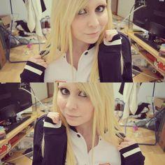 SKT Jacket ♡  #niineko #longhair #blondehair #gamergirl #leaguegirl #platinblond #hair #kpop #twitchgirls #twitch #emo #scene #scenehair #nerd #otaku #skt #leagueoflegends http://www.butimag.com/platinblond/post/1480703505046990033_3138961724/?code=BSMg_4kAGzR