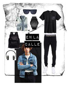 Hombres de la Calle by lauren-isabella-1 on Polyvore featuring polyvore, Hurley, Balmain, BDG, Yves Saint Laurent, Lanvin, Master & Dynamic, Diesel, men's fashion, menswear and clothing