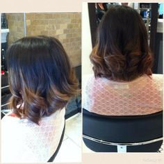 Ombre Ruffle Blouse, Hairstyles, Long Hair Styles, Beauty, Women, Fashion, Haircuts, Beleza, Hairdos