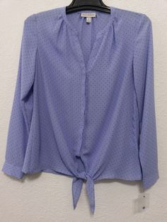 Dana Buchman - Women's Top/Blouse Size Small Lavender Long Sleeves - New Without Tags #DanaBuchman #Blouse #Career  ..... Visit all of our online locations ..... (www.stores.eBay.com/variety-on-a-budget) ..... (www.amazon.com/shops/Variety-on-a-Budget) ..... (www.etsy.com/shop/VarietyonaBudget) ..... (www.bonanza.com/booths/VarietyonaBudget ) .....(www.facebook.com/VarietyonaBudgetOnlineShopping)
