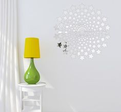 Dekorační zrcadla ve tvaru hvězdiček Chandelier, Ceiling Lights, Lighting, Home Decor, Candelabra, Decoration Home, Room Decor, Chandeliers, Lights