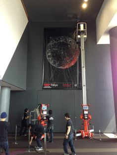 Things are taking shape in Shibuya Hikarie Hall for TEDx Tokyo 2014 // See more at eatcreative.jp