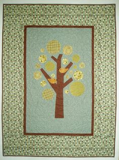Baby Tree quilt from Olfa Products + others