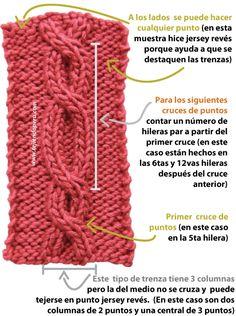trenzas ochos cuerdas cables tejiendoperu.com