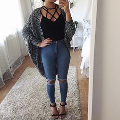 Cardigan & jeans: @fashionnova (get 15% off with 'XOTHANYA') Find similar items I'm wearing here: http://liketk.it/2qCKx @liketoknow.it #liketkit
