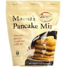 Great Gluten Free Pancakes- Gluten Free Mama's Pancake Mix