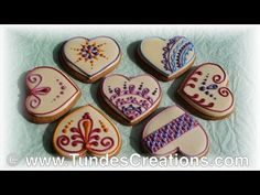 Cookie decorated using TruColor natural food colors 7. - YouTube
